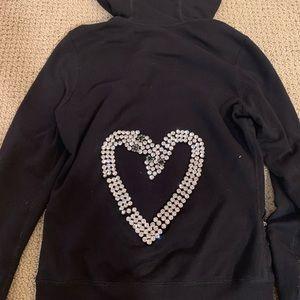 Twisted heart sweatshirt